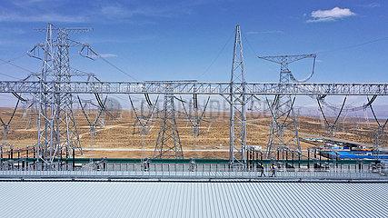 CHINA-QINGHAI-HENAN-UHV-TRANSMISSION LINE-10 Milliarden KWH (CN)