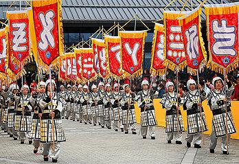 CHINA-SHAANXI-LUONAN-CANGJIE-HOMAGE-RITUAL (CN)