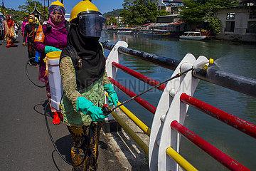 INDONESIEN-PADANG-KARTINI DAY-GEDENKEN