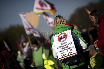 Querdenker - Rally Against New Lockdown Legislation