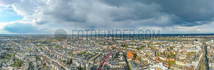 Luftbild Panorama der Stadt Bonn | Aerial panorama of the city of Bonn