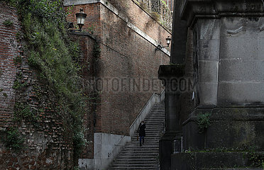 ITALIEN-ROM-COVID-19-WIEDERERÖFFNUNG IN KÜRZE