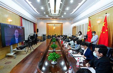 CHINA-PEKING-ÄGYPTEN-INTERVIEW CHINA-PEKING-ÄGYPTEN-INTERVIEW