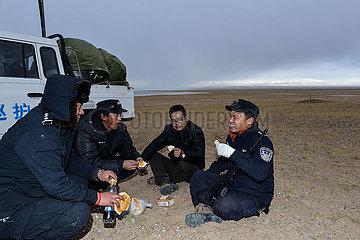 (CHINA BIODIVERSITY) CHINA-QINGHAI-Hohxil-ENVIRONMENTAL PROTECTION-FÖRSTER (CN)