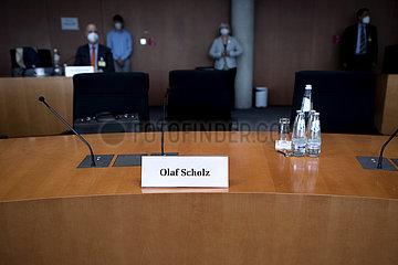 Olaf Scholz  Wirecard Ausschuss