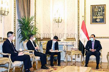 ÄGYPTEN-KAIRO-CHINA-Sinovac COVID-19-Impfstoff-Abkommen Ägypten-KAIRO-CHINA-Sinovac COVID-19-Impfstoff-ABKOMMEN