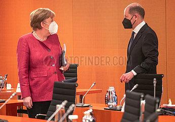 Merkel + Scholz