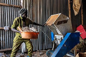 UGANDA-KAMPALA-CYCLING ENTHUSIAST-PLASTIC WASTE RECYCLING