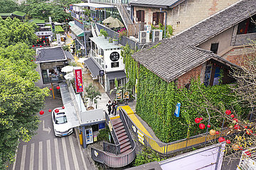CHINA-CHONGQING-Kultur- und Kreativ QUARTER (CN)