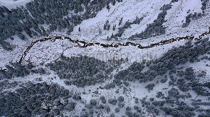 CHINA-QINGHAI-Qilian-SNOW VIEW (CN)