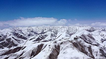 CHINA-QINGHAI-Qilian-SNOW VIEW (CN) CHINA-QINGHAI-Qilian-SNOW VIEW (CN)