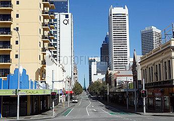 AUSTRALIEN-PERTH-COVID-19-LOCKDOWN