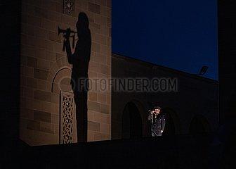 AUSTRALIEN-CANBERRA-ANZAC DAY