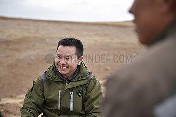 (FOCUS) CHINA-QINGHAI-Qilian Shan-UMWELTSCHUTZ-FÖRSTER (CN)