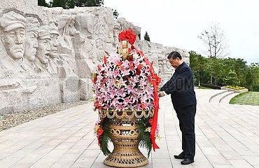 CHINA-GUANGXI-XI jinping-Inspektion (CN)