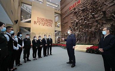 CHINA-GUANGXI-XI jinping-Inspektion (CN) CHINA-GUANGXI-XI jinping-Inspektion (CN)