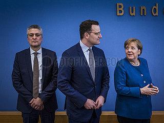 Merkel on Corona Pandemic