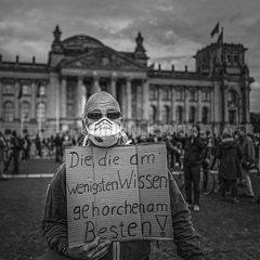 Germany protest against lockdown measures