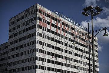Alexanderplatz heute  Leseland DDR