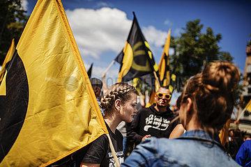 Identitarian Movement Demonstration