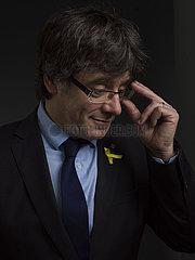 Catalan separatist leader Carles Puigdemont