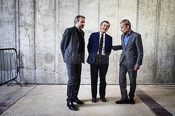 Gründungsintendanz Baustelle Berliner Schloss Humboldt Forum