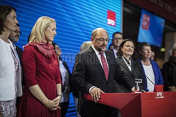 SPD Reaktion auf Wahlergebniss