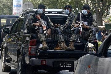 PAKISTAN-LAHORE-COVID-19-ARMY