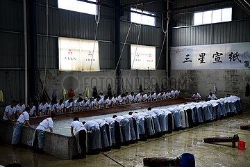 CHINA-ANHUI-XUAN papier- 'SI ZHANG XUAN' (CN)