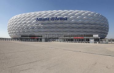 Allianz Arena  Muenchen  26. April 2021
