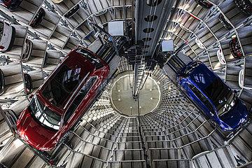 Volkswagen Car Towers