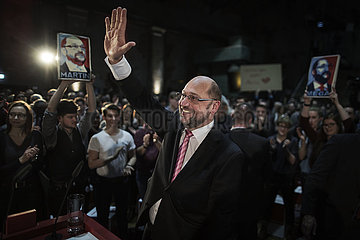 Martin Schulz does Leipzig