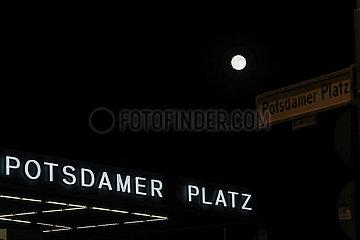 DEUTSCHLAND-BERLIN-SUPER MOON