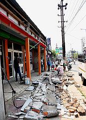 INDIA-GUWAHATI-EARTHQUAKE-DAMAGE