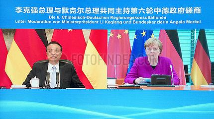 CHINA Beijing-LI Keqiang-DEUTSCHLAND-inter-GOVERNMENTAL Konsultation (CN) CHINA Beijing-LI Keqiang-DEUTSCHLAND-inter-GOVERNMENTAL Konsultation (CN)