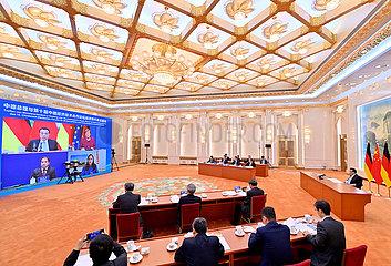 CHINA Beijing-LI Keqiang-DEUTSCHLAND-Konsultation (CN)
