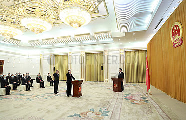 CHINA Beijing-NPC-Vereidigung (CN)
