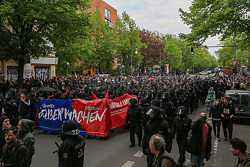 Revolutionärer 1. Mai in Berlin  2017