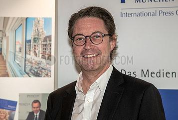 Bundesverkehrsminister Andreas Scheuer ( CSU )