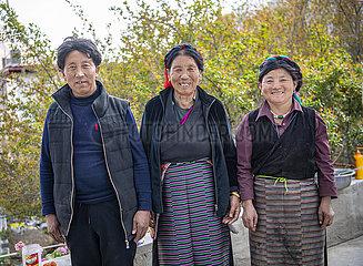 (InTibet) CHINA-TIBET-EHEMALIGE SERF-NEW LIFE-Changchub LHAMO (CN)