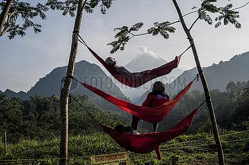 INDONESIEN-YOGYAKARTA-Merapi
