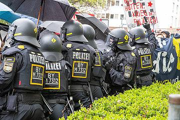 Revolutionärer 1. Mai Demo in München