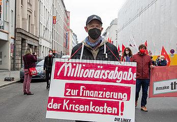 1. Mai Gewerkschaftsdemo in München