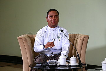 MYANMAR-Naypyidaw-Militärsprecher-INTERVIEW
