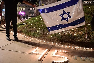 ISRAEL-TEL AVIV-STAMPEDE-MOURNING