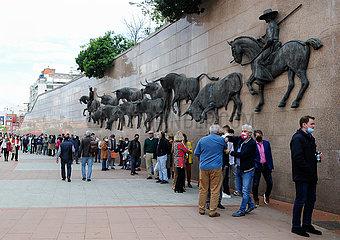 SPANIEN-MADRID-BULLRING-WIEDERERöFFNUNG