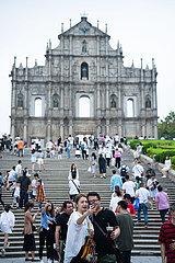 CHINA-MACAO-TOURISM-Maiferien (CN)
