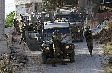 MIDEAST-NABLUS-ISRAEL-SECURITY OPERATION