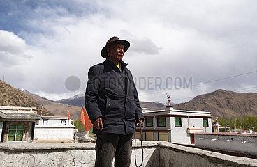 (InTibet)CHINA-TIBET-FORMER SERF-NEW LIFE-NORBU (CN)