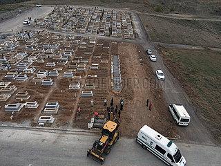 TURKEY-ANKARA-COVID-19 DECEASED-BURIAL